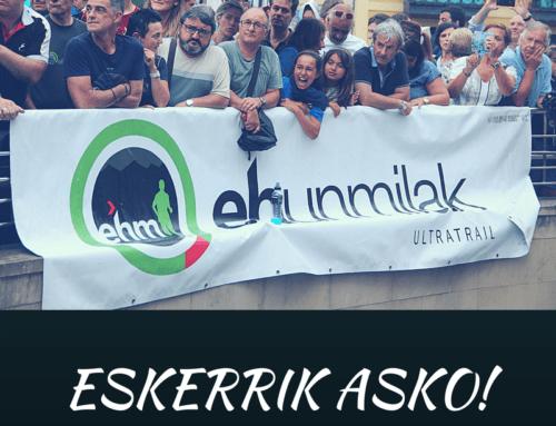 #ehunmilak18 NOTA DE AGRADECIMIENTO