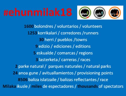 #ehunmilak18 zifretan laburtuta!!