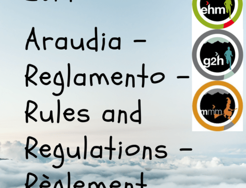 2019 Araudia – Reglamento – Rules and Regulations – Règlement