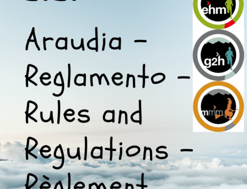 2020 Araudia – Reglamento – Rules and Regulations – Règlement