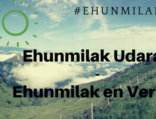 Ehunmilak en verano